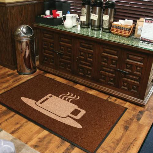 Coffee Shop Floor Mat