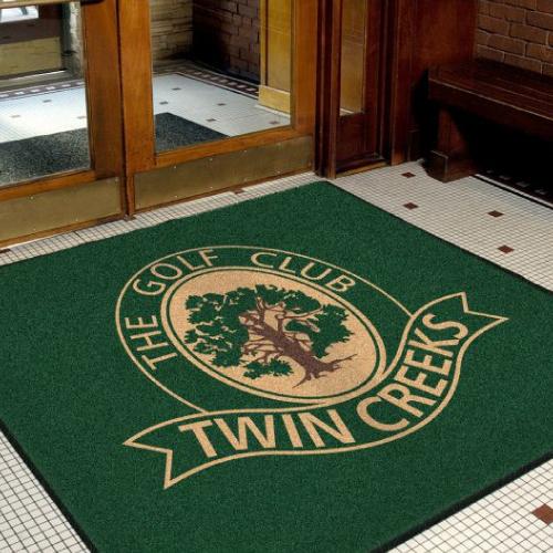 Golf Course Floor Mat