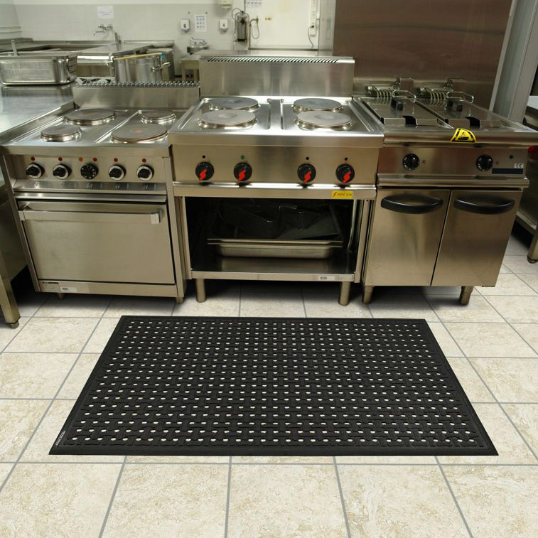 Floor Mat in Kitchen